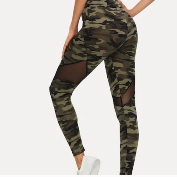60fa45e387f0b Pants   Super Soft Army Fatigue Leggings   Poshmark